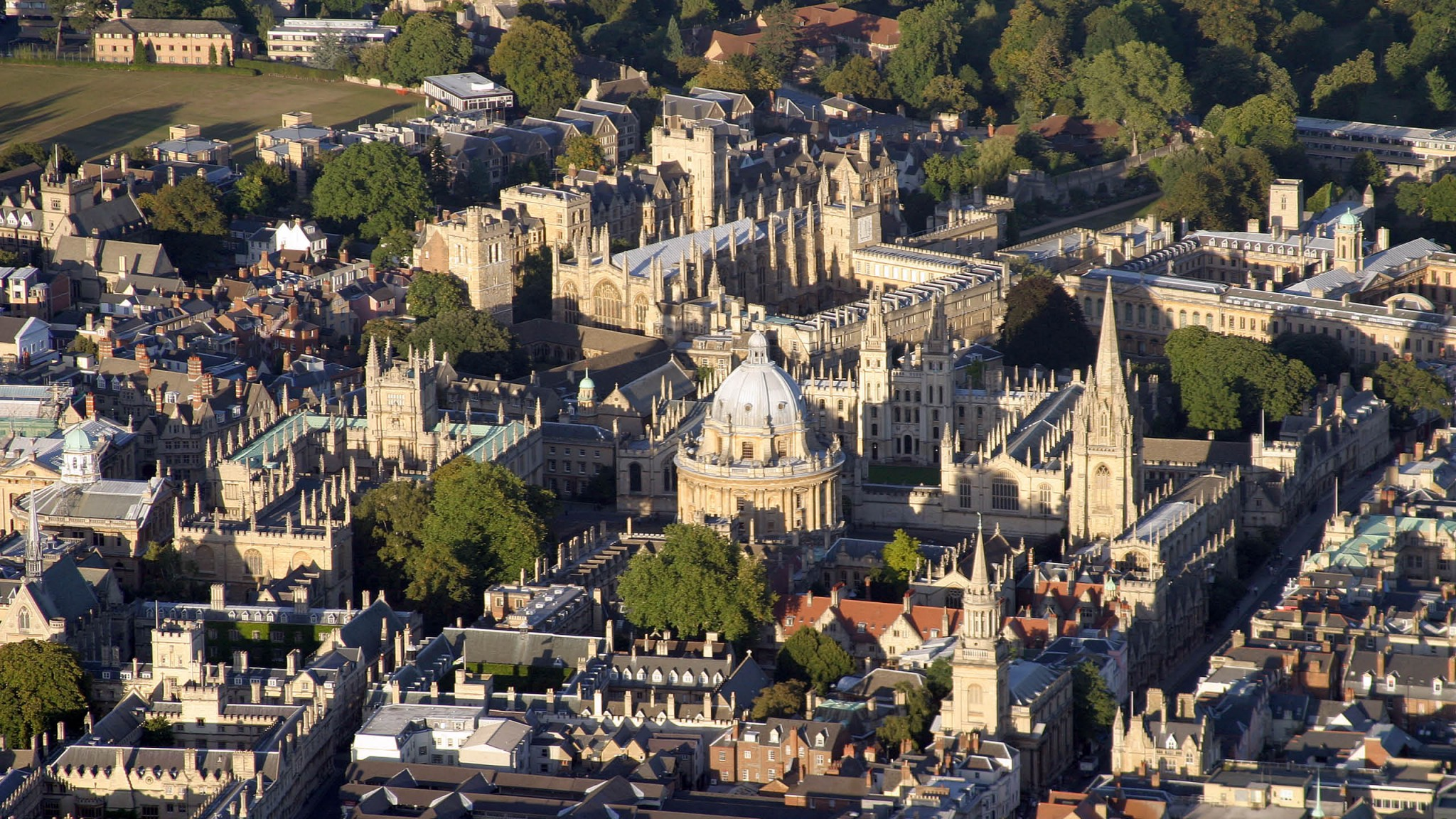 A photograph of Oxford