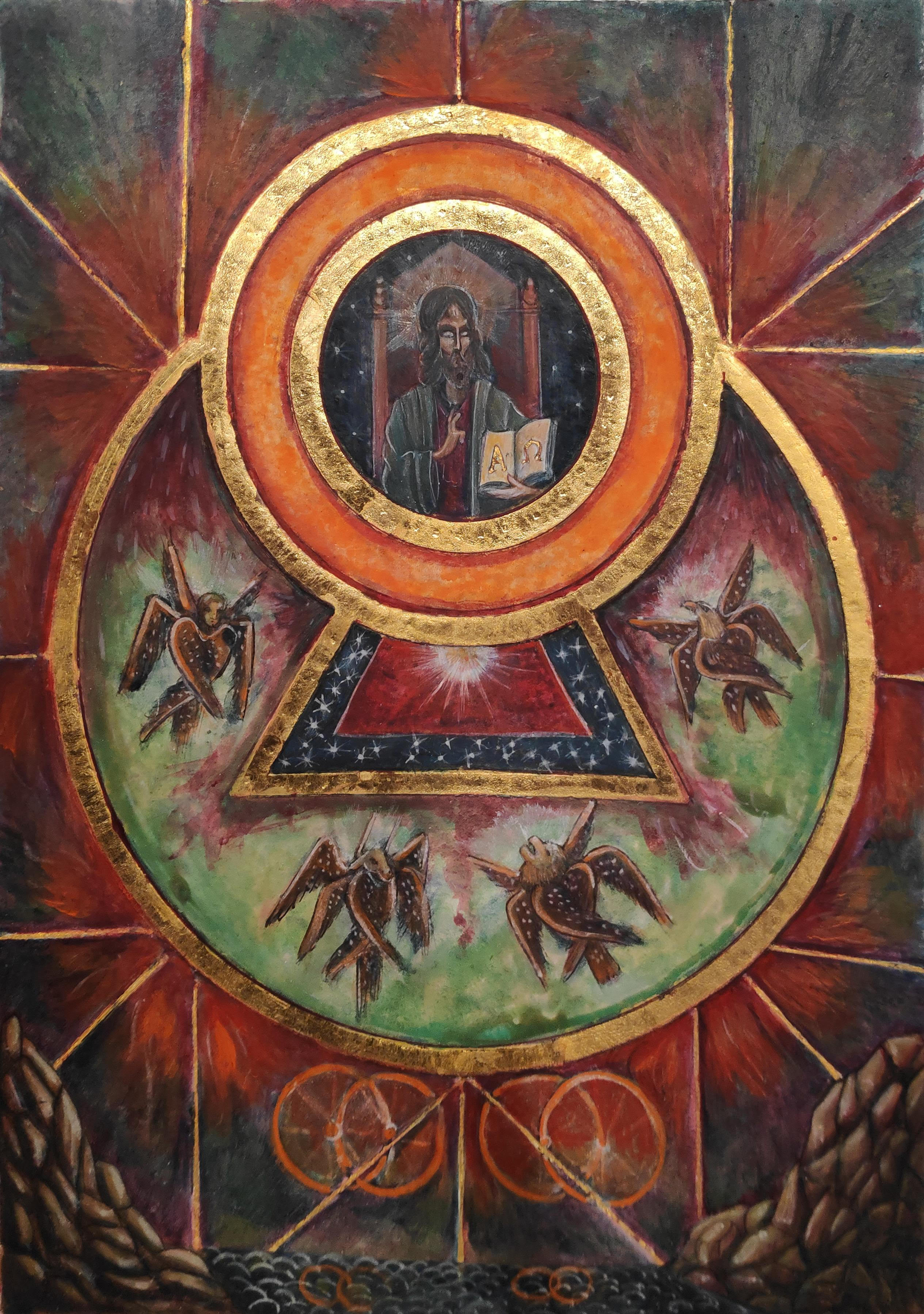 The Resemblance of the Glory of God (Vision of the Prophet Ezekiel)