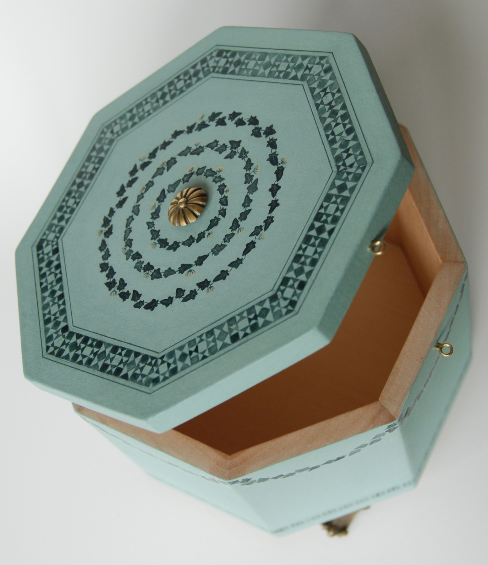 Funerary Box, top, open