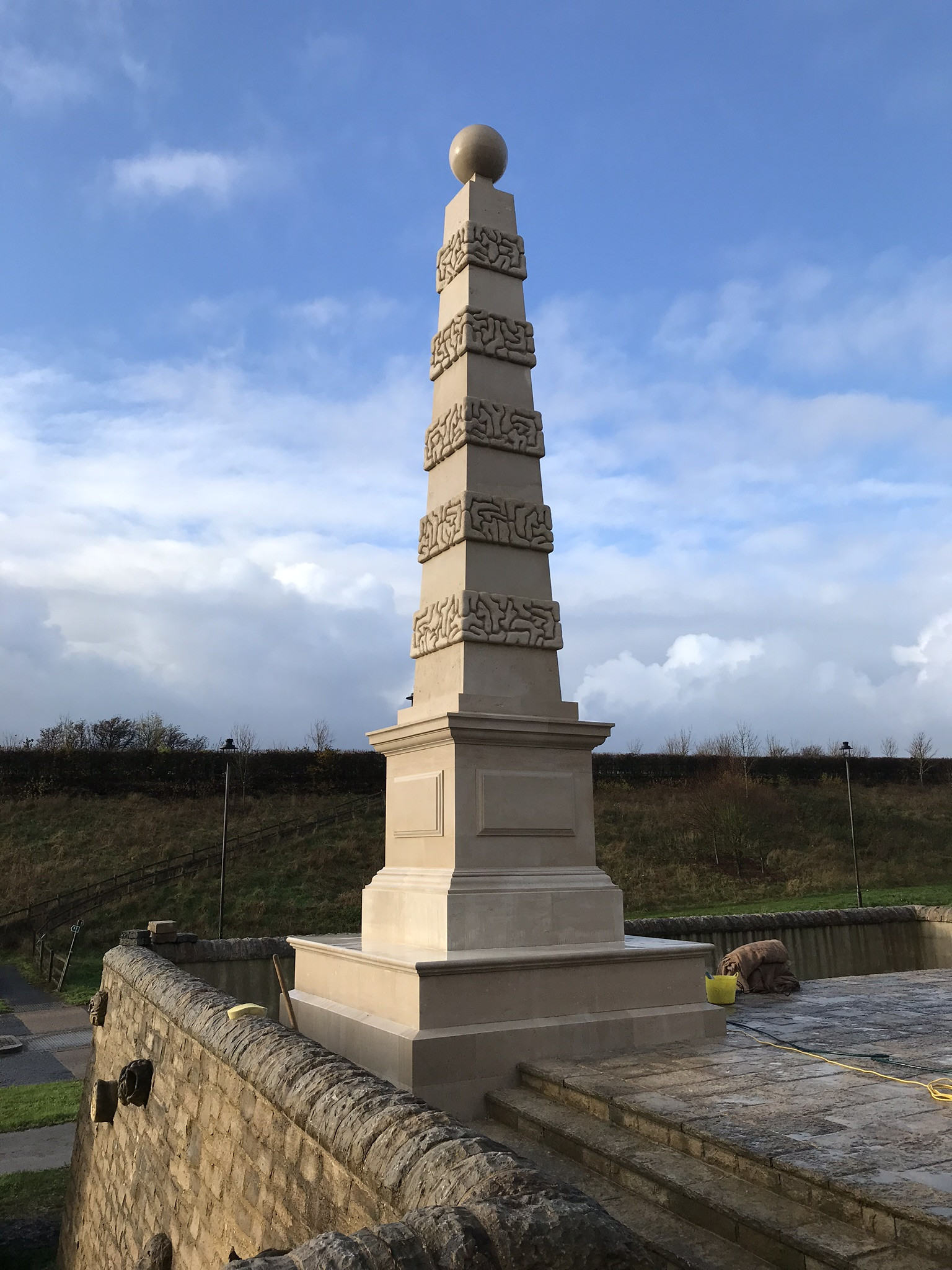 Obelisk at Poundbury