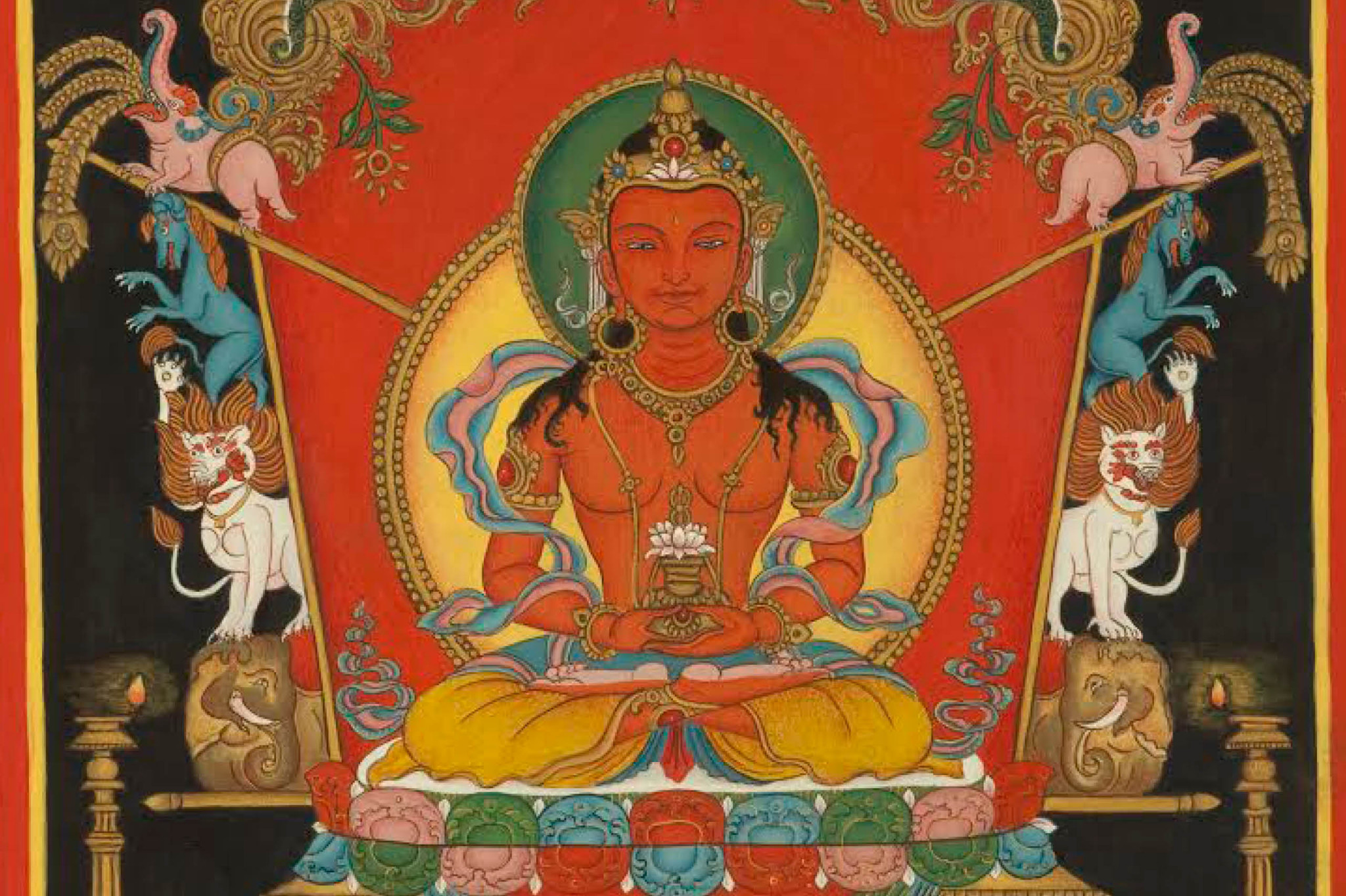 Image of Amitayus Buddha of long life