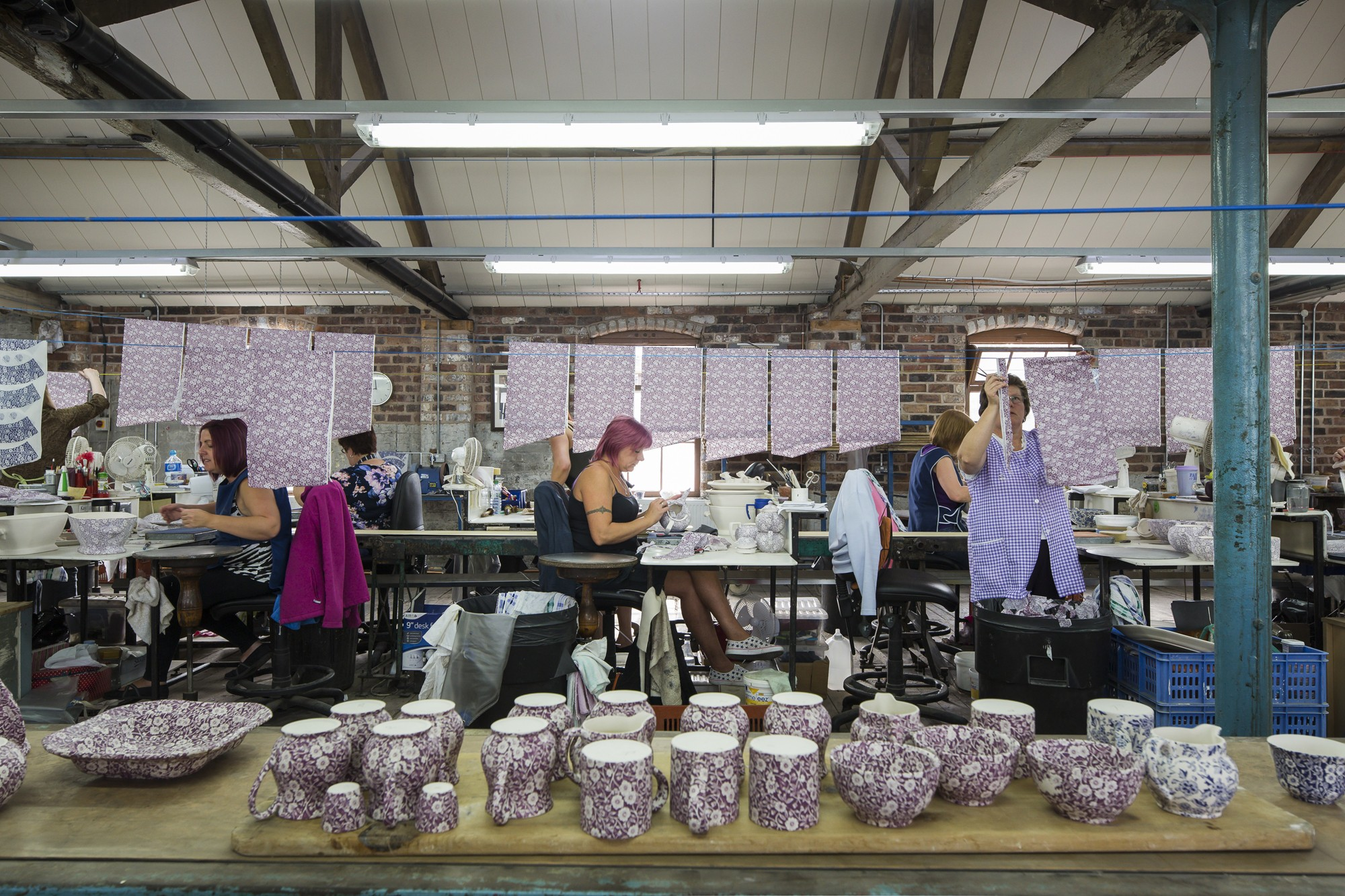 A photograph of Middleport pottery