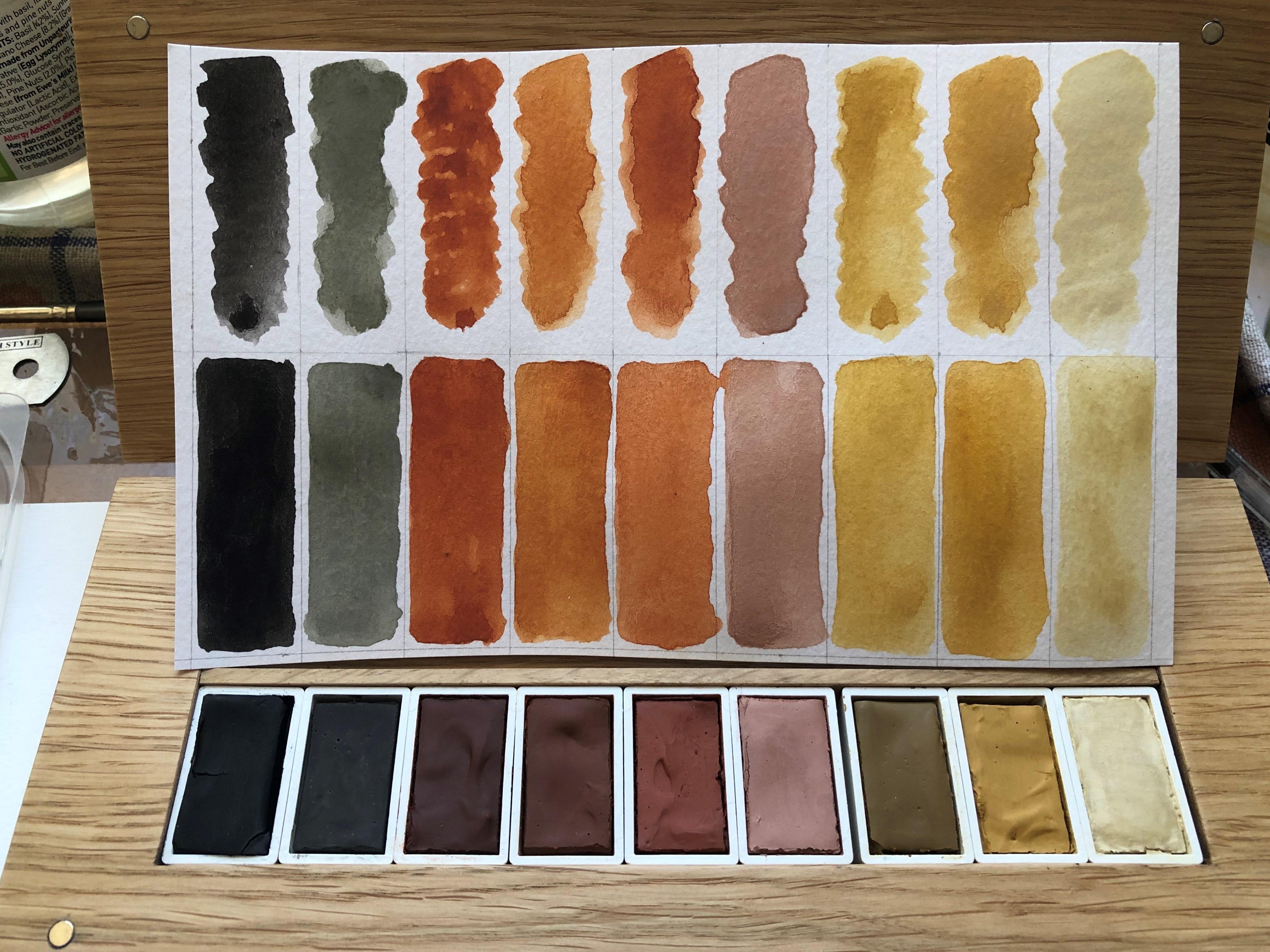 Al Ula, palette, natural pigment, will riding
