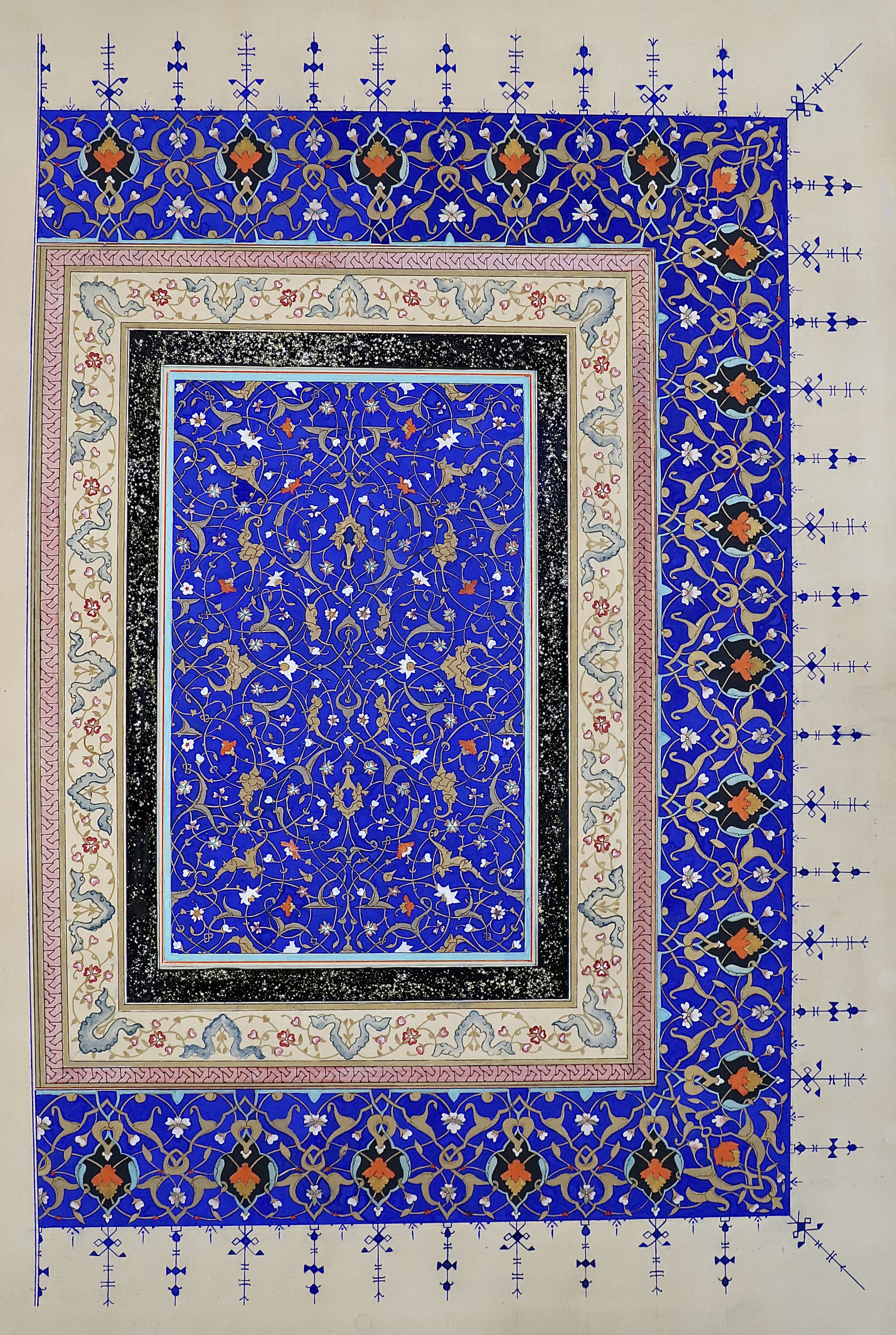 Safavid Frontispiece Illumination
