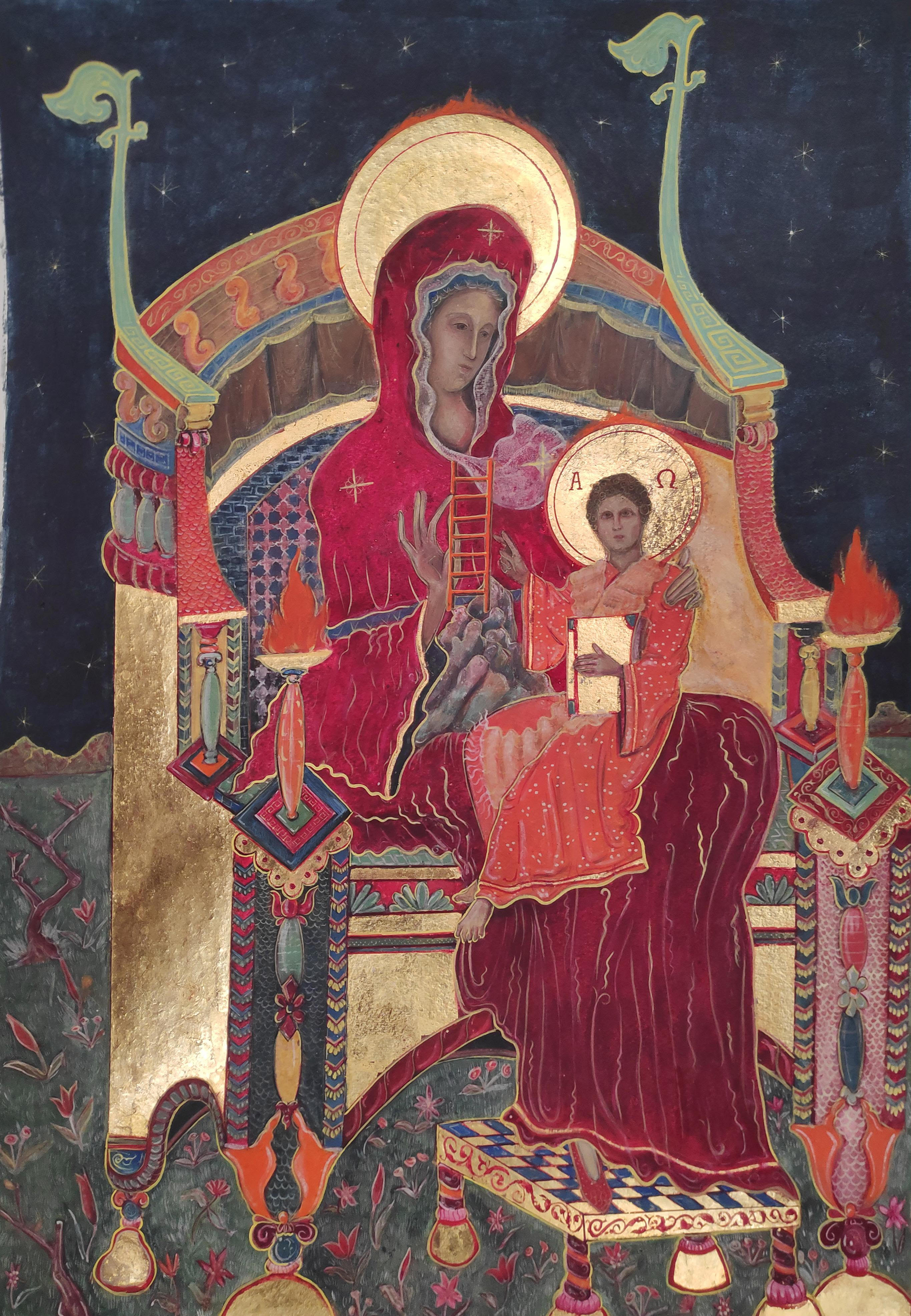 Theotokos, the Rock Not Hewn by Hand